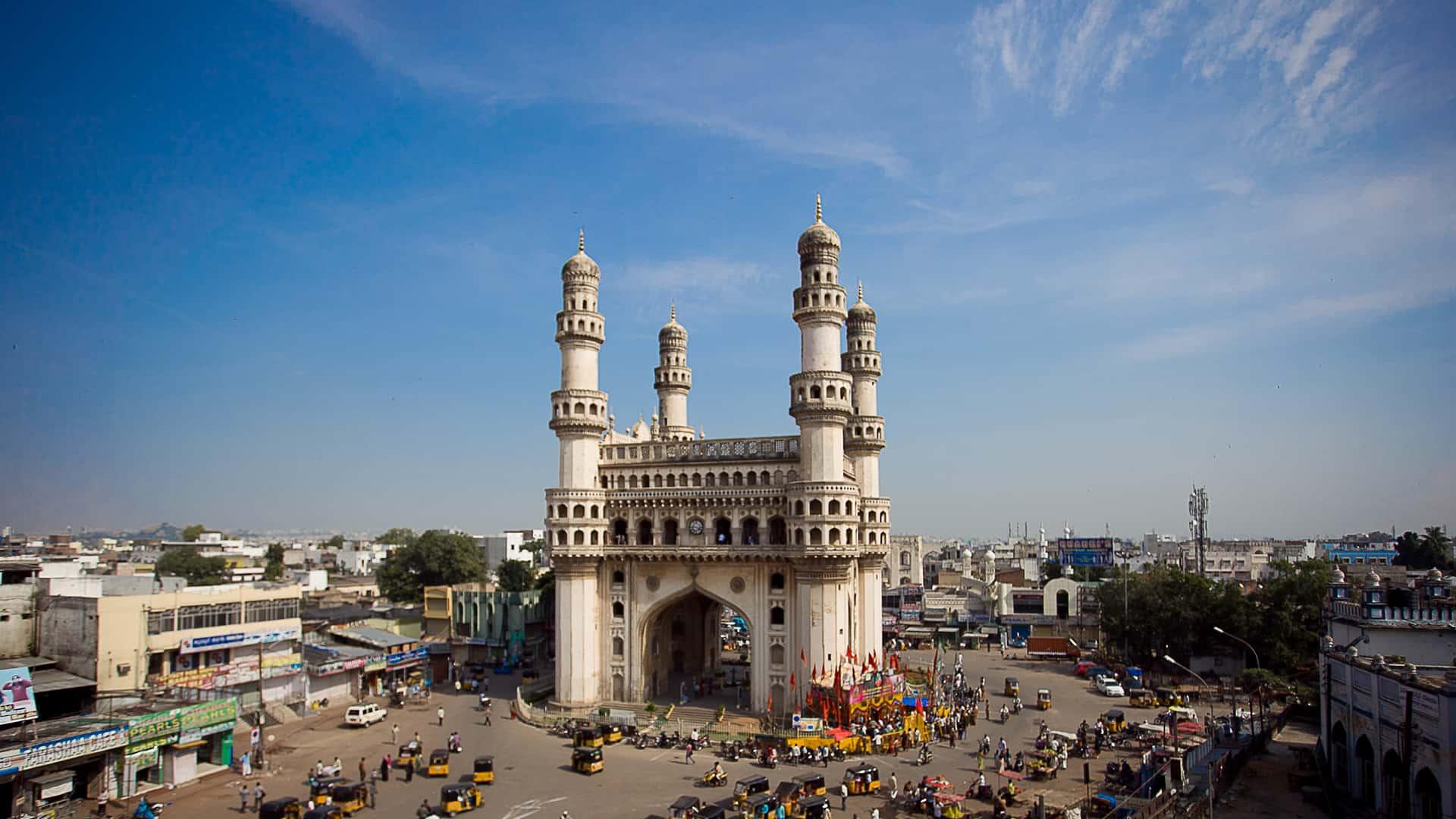 Chaar Minar, Hyderabad चारमीनार, हैदराबाद