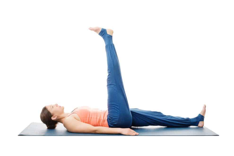 पेट को कम करने के लिए उत्तानपादासन- Uttanpadasana to reduce belly fat