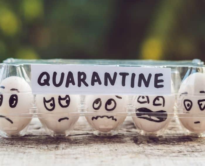 Quarantine Hindi meaning