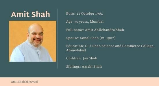 amit shah ki jeevani