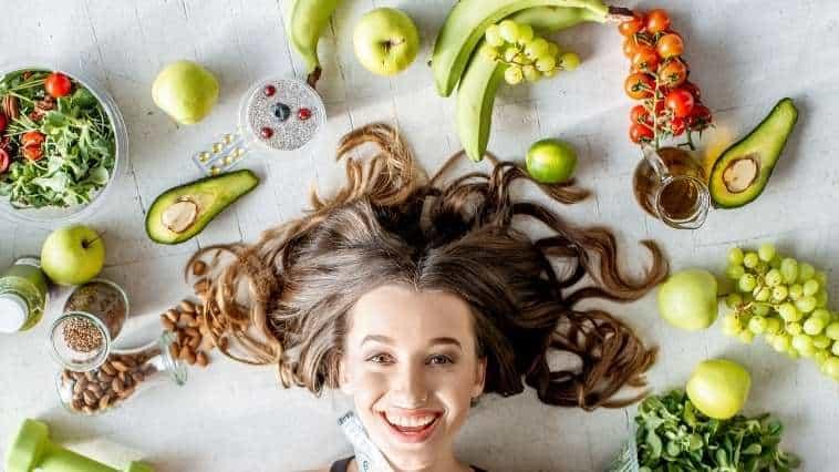 balo ke liye aahar, Diet For Healthy Hair