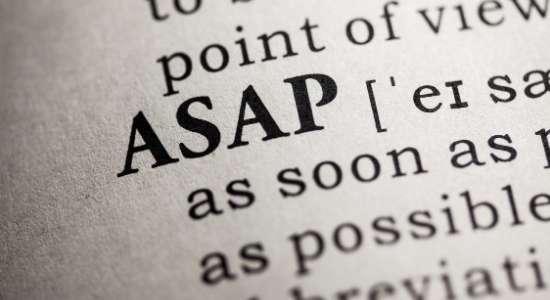 full form of ASAP