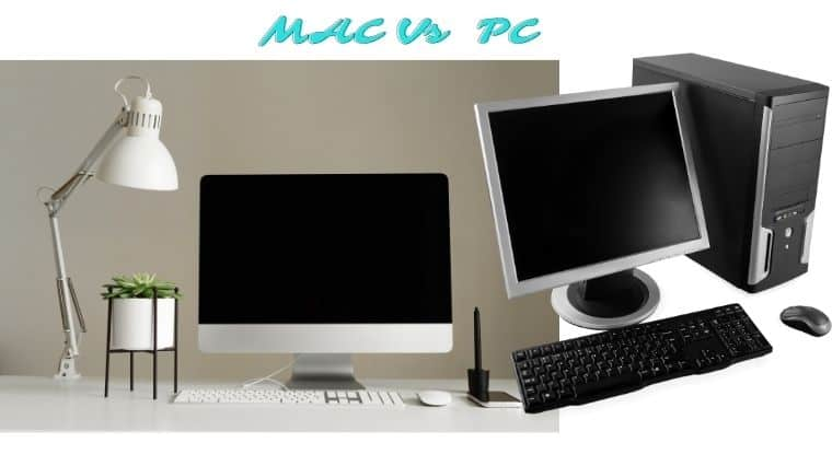 Difference between MAC and PC