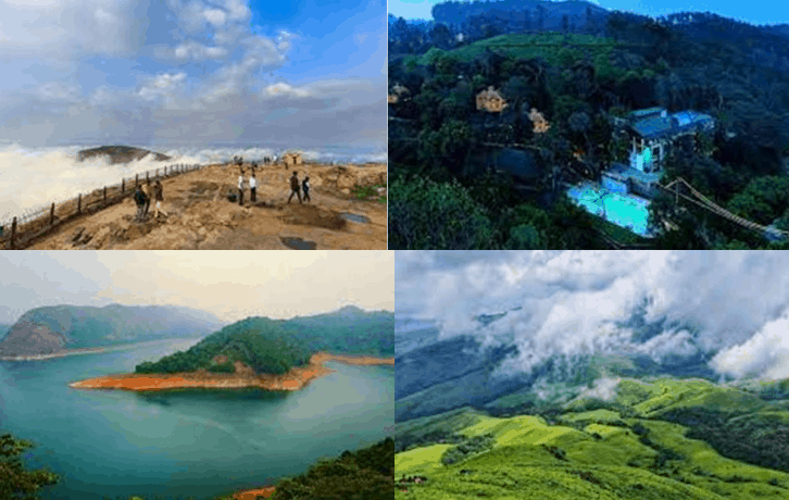 Tourist Places In South India