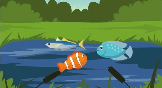 the three fishes Panchatantra story