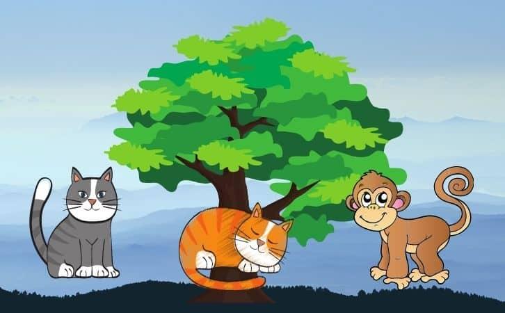 Monkey And Two Cats Panchtantra ki kahani