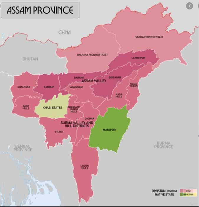 List of Districts of Assam in Hindi and English | असम के सभी जिलों के नाम और उनकी वेबसाइट, MAP