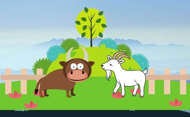 bull and goat Panchtantra ki kahani