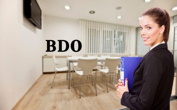 BDO full form in hindi