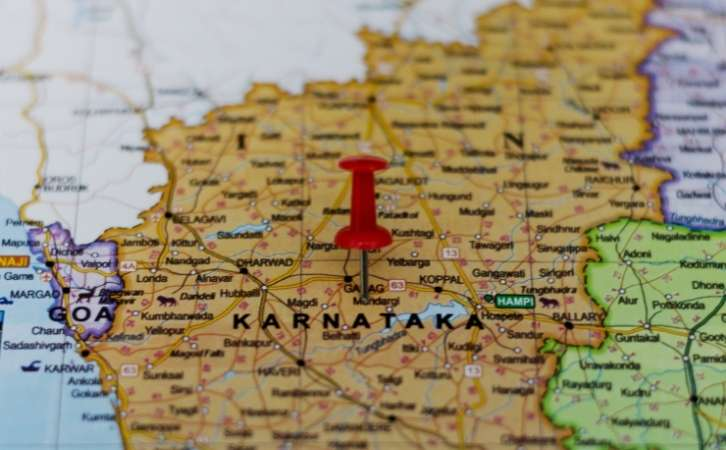 cities in Karnataka, towns in Karnataka, कर्नाटक के शहर