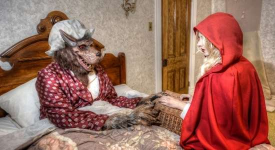 Little Red Riding Hood Story In Hindi