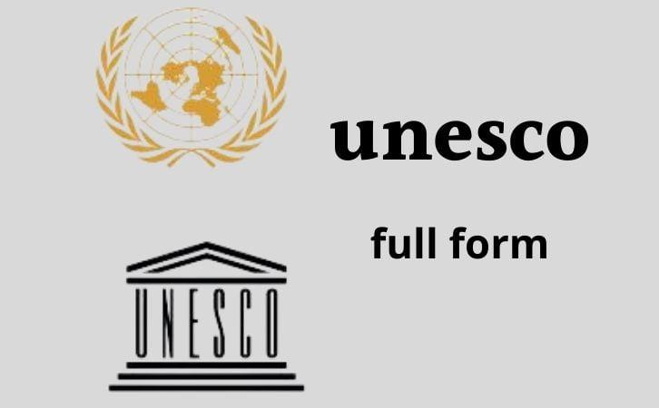 UNESCO full form in hindi