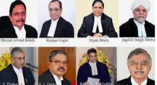 all the chief justice of India