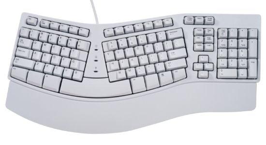 एर्गोनॉमिक कीबोर्ड | Ergonomic keyboard in Hindi
