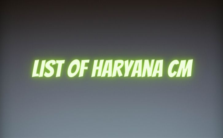 हरयाणा के मुख्यमंत्रियों की सूची | List of chief ministers of Haryana | Haryana CM list in Hindi PDF | Haryana Chief Ministers (CM) List PDF in Hindi | Haryana ke Mukhyamantri list in hindi | List of Haryana CM