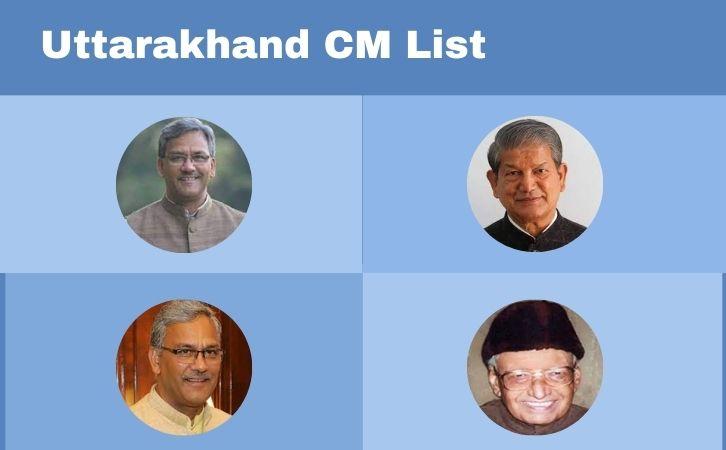 List of uttarakhand CM, उत्तराखण्ड के मुख्यमंत्रियों की सूची, List of chief ministers of uttarakhand, uttarakhand CM list in Hindi PDF, uttarakhand Chief Ministers (CM) List PDF in Hindi, uttarakhand ke Mukhyamantri list in Hindi