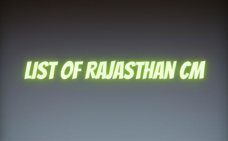 List of Rajasthan CM | राजस्थान के मुख्यमंत्रियों की सूची | List of chief ministers of Rajasthan | Rajasthan CM list in Hindi PDF | Rajasthan Chief Ministers (CM) List PDF in Hindi | Rajasthan ke Mukhyamantri list in hindi
