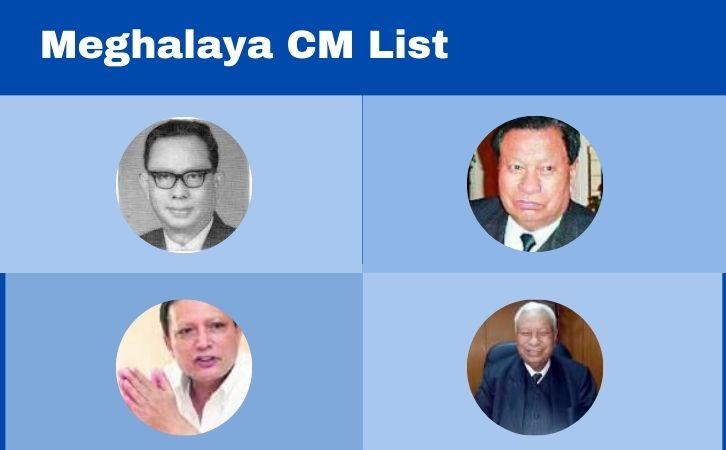 List of Meghalaya CM   मेघालय के मुख्यमंत्रियों की सूची   List of chief ministers of Meghalaya   Meghalaya CM list in Hindi PDF   Meghalaya Chief Ministers (CM) List PDF in Hindi   Meghalaya ke Mukhyamantri list in hindi