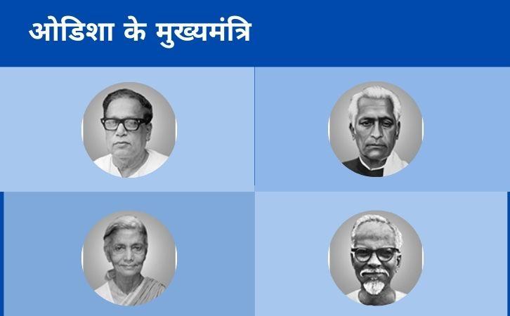 List of Odisha CM | उड़ीसा के मुख्यमंत्रियों की सूची और कार्यकाल | List of chief ministers of Odisha | Odisha CM list in Hindi PDF | Odisha Chief Ministers (CM) List PDF in Hindi | Odisha ke Mukhyamantri list in hindi