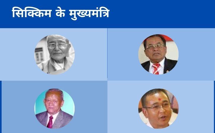 List of Sikkim CM   सिक्किम के मुख्यमंत्रियों की सूची और कार्यकाल   List of chief ministers of Sikkim   Sikkim CM list in Hindi PDF   Sikkim Chief Ministers (CM) List PDF in Hindi   Sikkim ke Mukhyamantri list in hindi