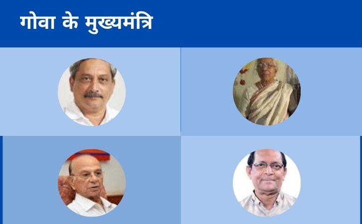 List of Goa CM | गोवा के मुख्यमंत्रियों की सूची और कार्यकाल | List of chief ministers of Goa | Goa CM list in Hindi PDF | Goa Chief Ministers (CM) List PDF in Hindi | Goa ke Mukhyamantri list in hindi