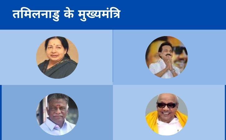 List of Tamil Nadu CM   तमिलनाडु के मुख्यमंत्रियों की सूची और कार्यकाल   List of chief ministers of Tamil Nadu   Tamil Nadu CM list in Hindi PDF   Tamil Nadu Chief Ministers (CM) List PDF in Hindi   Tamil Nadu ke Mukhyamantri list in hindi